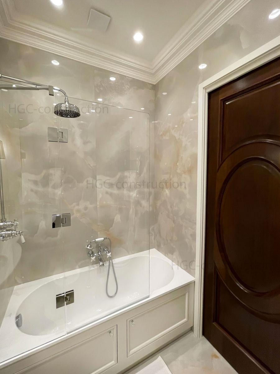 Baignoire avec douche intégrée installation plombier Nice