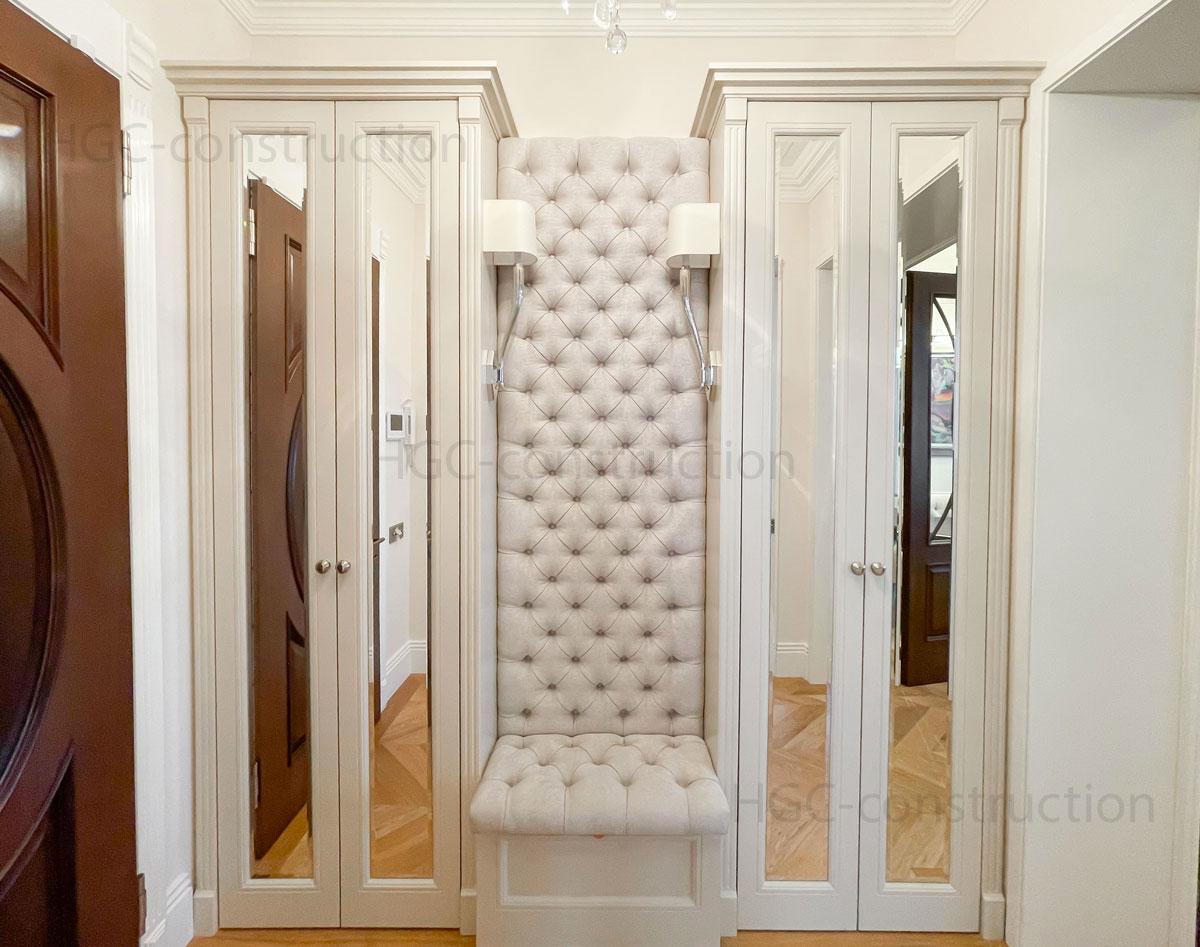 Livraison sur mesure de meubles de couloir encastrés Nice