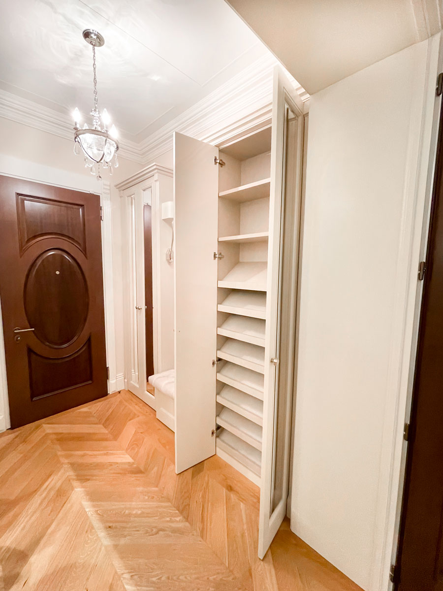 Meubles dans le couloir pour les chaussures à livrer Nice
