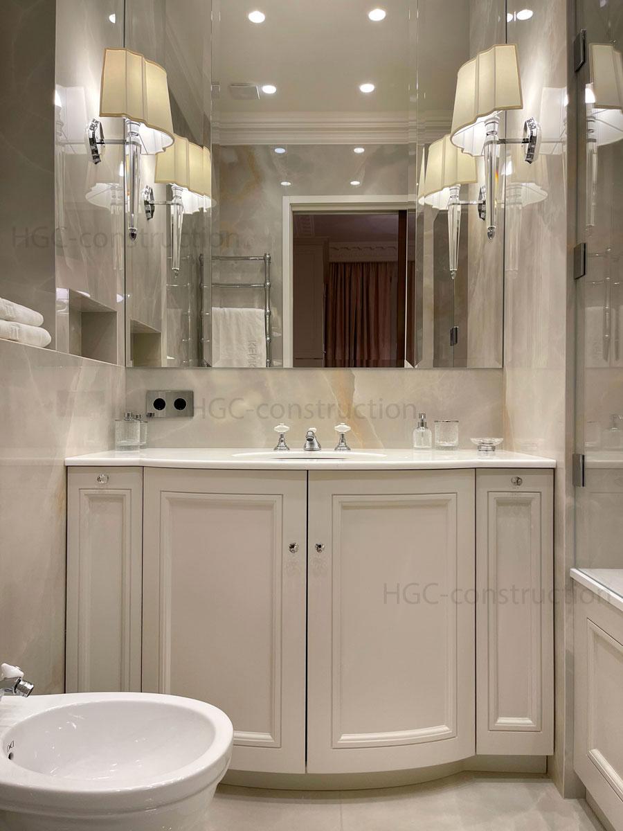 Meubles de salle de bain sur mesure Nice