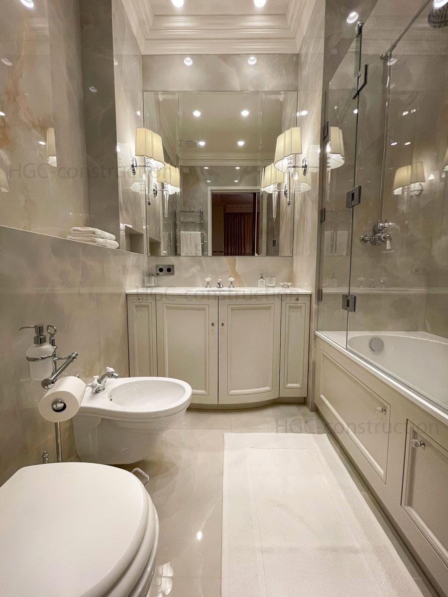 Ordre intérieur de salle de bain de luxe Nice
