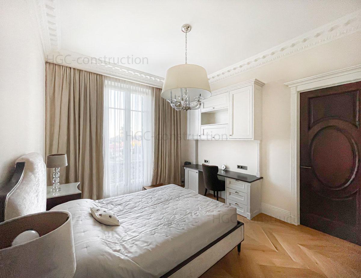 Chambre à coucher design moderne