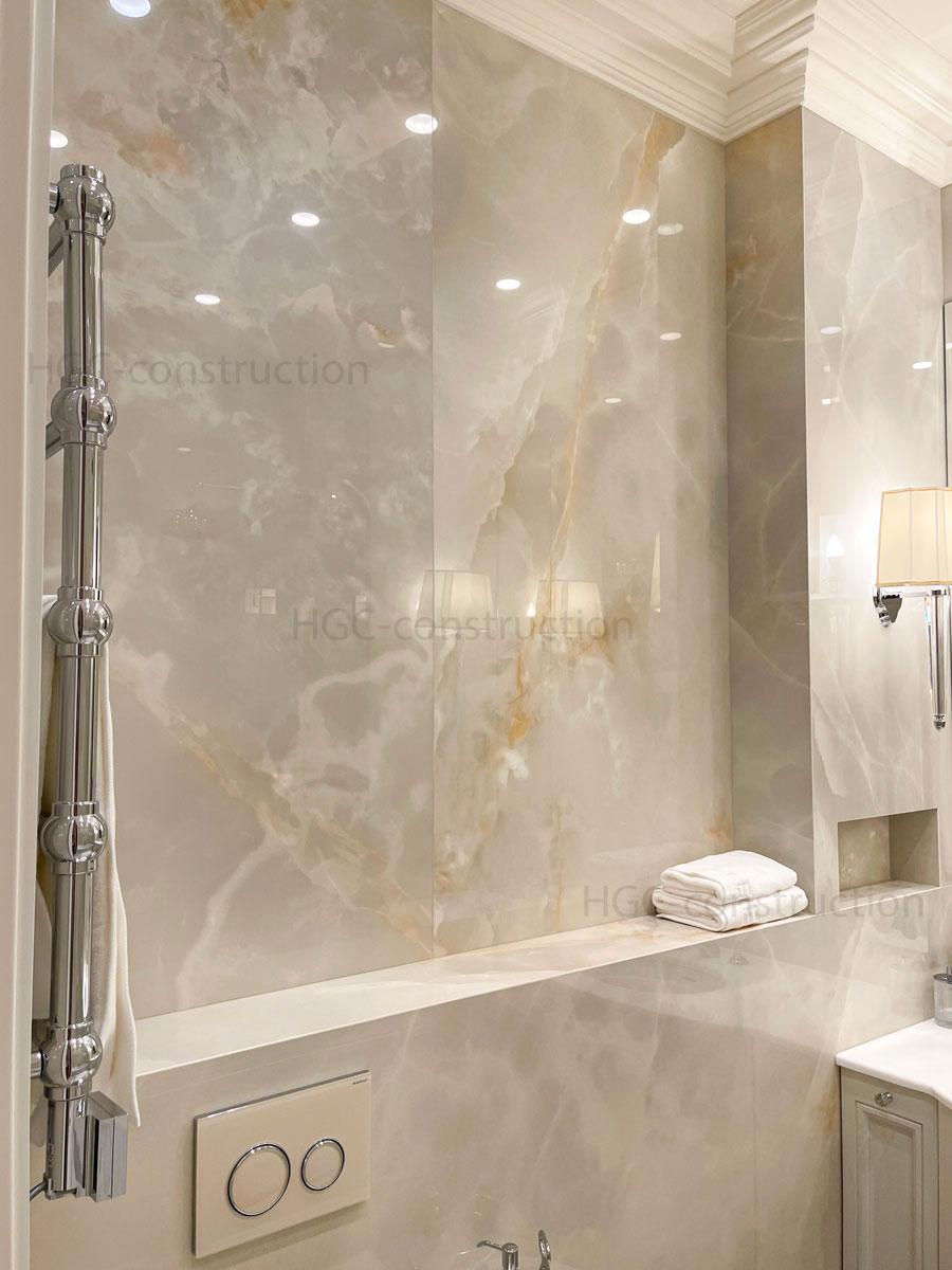 murs en marbre sans soudure